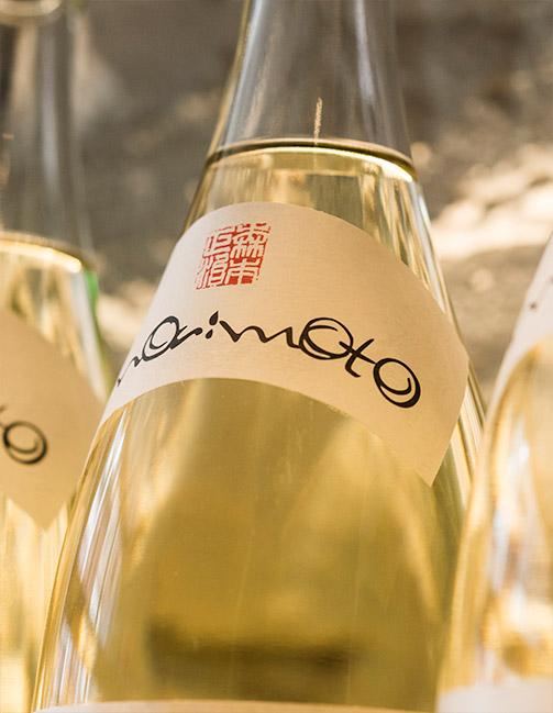 Sake at Momosan